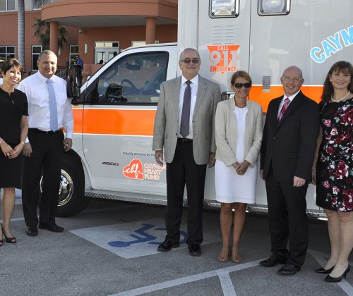 Donation of new ambulance