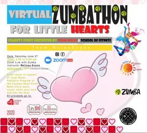 Virtual Zumbathon for Little Hearts