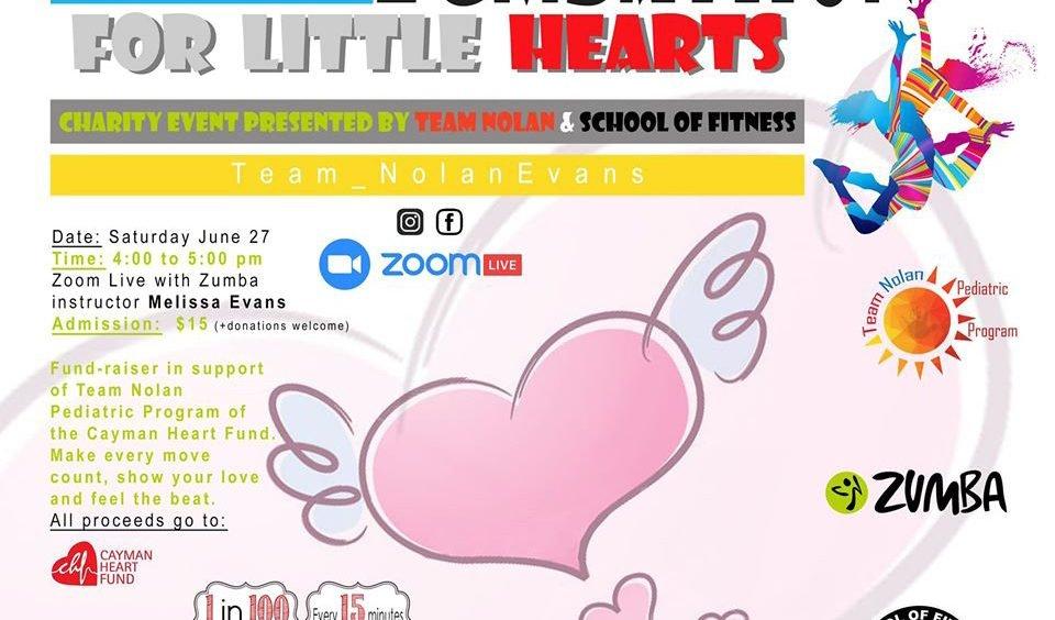 Virtual Zumbathon for Little Hearts